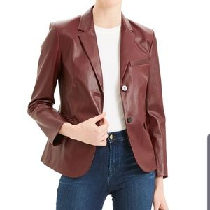 Theory Shrunken Leather Jacket. On trend for Fall.